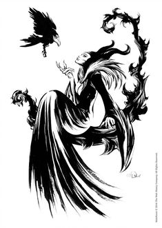 DeviantArt is the world's largest online social community for artists and art enthusiasts, allowing people to connect through the creation and sharing of art. Maleficent Tattoo, Disney Tattoos, Dark Disney Tattoo, Disney Kunst, Disney Art, Disney Drawings, Art Drawings, Disney Silhouette Art, Disney Villains