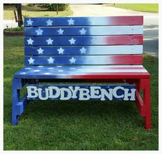 Buddy Bench I built for my sons elementary school.playground. my hope is it helps create lots of friendships.