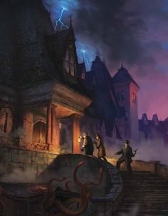 Mansions of Madness Cover Art