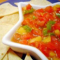 Salsa de Palta, Tomate y Mango @ allrecipes.com.ar