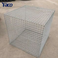 Source 4mm 5mm 6mm wire thickness galfan steel wire welded gabion cage gabion wall on m.alibaba.com Gabion Cages, Gabion Fence, Gabion Wall, Rock Wall, Wire Mesh, Hardware, Steel, Diy, Computer Hardware
