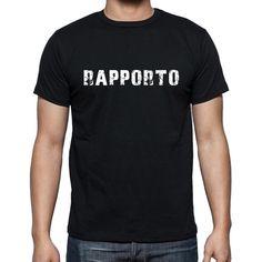 rapporto, Men's Short Sleeve Rounded Neck T-shirt 00017