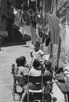 Henri Cartier-Bresson, Napoli, Italia 1960