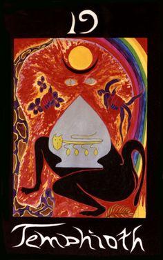 """Temphioth  """"Ao tornar-se um com os nossos instintos e paixões nós mesmos nos tornarmos O Caminho, a essência fundamental de nossas próprias ações criativas, com poder de criar, para abençoar e curar.""""  """"In becoming one with our instincts and passions we ourselves become The Path, the central essence of our own creative acts, with power to create, to bless, and heal."""""""