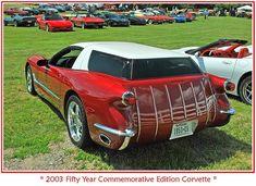 STRANGE CONCEPT CARS - 2003 50 YEAR COMMEMORATIVE EDITION CORVETTE STATION WAGON!