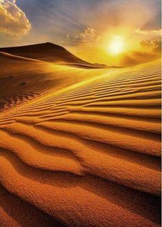 amazing sunsets in desert algeria