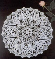 MIRIA crochets et peintures: Centres CROCHET AVEC FORME RONDE