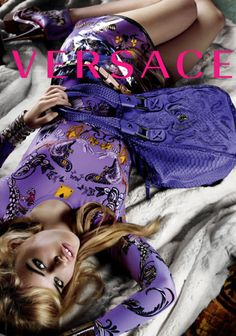 Versace ad campaign