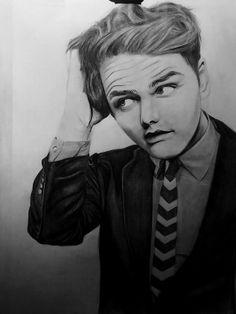 Gee Way pencil drawing