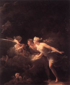 The Fountain of Love : FRAGONARD, Jean-Honore : Art Images : Imagiva