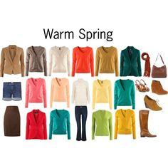 warm spring palette | Warm Spring Colors by katestevens on Polyvore | Warm Spring