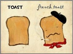 Toast & Franch Toast. :)