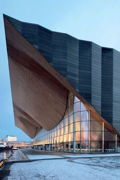 Kilden Performing Arts Centre in Kristiansand, Norway, designed by ALA Architects