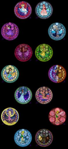 disney stained glass art | Wallpapers 31 Disney Princess Wallpaper Disney Princess 6 Free ...