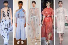 (L-R): Teatum Jones, Xiao Li, Emilia Wickstead, Toga and Joseph. Photos: Imaxtree