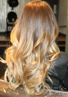 Love this long curled hair it's beautiful!   long hair styles how to