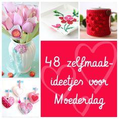 De leukste zelfmaakideetjes voor Moederdag vind je natuurlijk op Freubelweb! ;-)