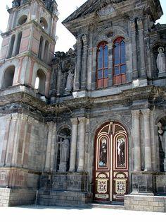 iglesia de Otovalo ,Ecuador