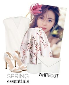 """Spring Essentials - Whiteout"" by misty87 ❤ liked on Polyvore featuring Marni, 3.1 Phillip Lim, Isaac Mizrahi and Issey Miyake"