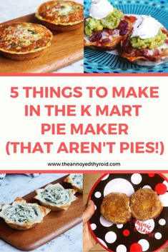 You'll be amazed at what you can make in the Kmart pie maker - it's good for so much more than pies! You'll be amazed at what you can make in the Kmart pie maker - it's good for so much more than pies! Mini Pie Recipes, Cooking Recipes, Loaf Recipes, Savoury Recipes, Cooking Ideas, Dinner Recipes, How To Make Pie, Food To Make, Breville Pie Maker