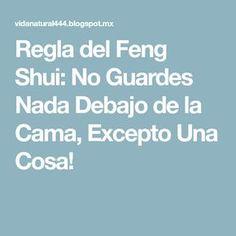 Regla del Feng Shui: No Guardes Nada Debajo de la Cama, Excepto Una Cosa!