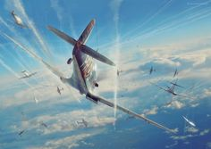 Commisioned illustration for Battle of Britain Combat Archive Vol. 3 by Simon W. Parry. 3D models by Marek Ryś, Wojciech Kliment Niewęgłowski, Piotr Forkasiewicz. Scene, textures and illustration by Piotr Forkasiewicz. Copyright by Simon W. Parry More in…