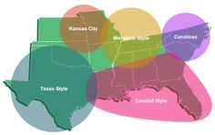 BBQ Regions of the United States