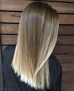 87 unique ombre hair color ideas to rock in 2018 - Hairstyles Trends Ombre Hair Color, Hair Color Balayage, Hair Highlights, Balayage Blond, Cabelo Ombre Hair, Medium Hair Styles, Short Hair Styles, Hair Day, Hair Looks