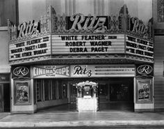The Ritz Theatre in Los Angeles, CA - 1950