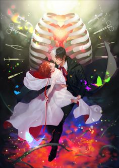 Black Jack Anime, Jack Black, Maya Picture, One Piece Man, Young Black, Yandere, Anime Couples, Character Design, Fan Art