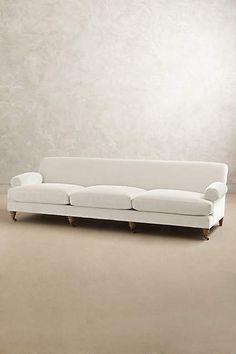 Velvet Grand Willoughby Sofa, Wilcox - anthropologie.com