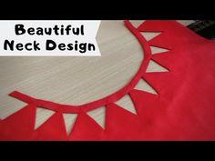 नैक डिज़ाइन । Beautiful Neck design, Cutting and Stitching Chudidhar Neck Designs, Salwar Neck Designs, Neck Designs For Suits, Kurta Neck Design, Neckline Designs, Fancy Blouse Designs, Bridal Blouse Designs, Stylish Dress Designs, Blouse Neck Designs