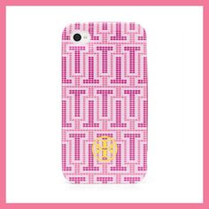 Tory Burch Limited Edition Pink Hardshell Phone Cover