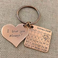Bronze anniversary keychain bronze gift anniversary bronze birthday bronze anniversary gift for him bronze gift for her Bronze Anniversary Gifts, 8th Wedding Anniversary, Boyfriend Anniversary Gifts, Anniversary Surprise, Happy Anniversary, Anniversary Cards, 9 Year Wedding Anniversary, Anniversary Ideas For Him, Anniversary Outfit