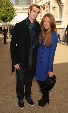 Andy Murray at Burberry