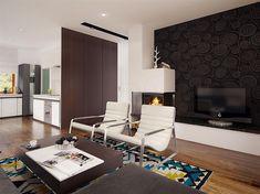 Projekt domu Niko 85,78 m2 - koszt budowy - EXTRADOM Conference Room, Sweet Home, Furniture, Home Decor, Home Plans, Home, Homemade Home Decor, House Beautiful, Meeting Rooms