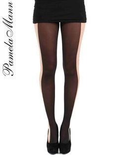 $16. 50 Pamela Mann Illusion Tights // xD first time seeing these, don't want them, but I find them amusing.