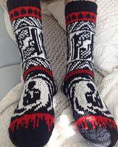Ravelry: 007 Socks pattern by Lumi Karmitsa
