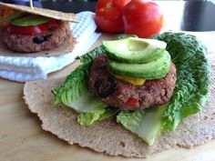 Mediterranean Bean Burgers | Dreena Burton's Plant-Powered Kitchen | #vegan #glutenfree #recipe