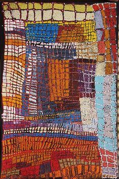 Tommy Mitchell - Ngurra Pirni, acrylic on canvas, 2011 Aboriginal Painting, Aboriginal Artists, Dot Painting, Encaustic Painting, Indigenous Australian Art, Indigenous Art, Tachisme, Atelier D Art, Native Art