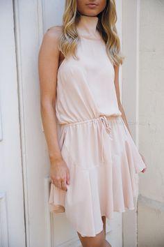 fiona dress- blush