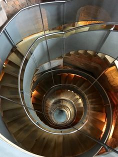 The amazing spiral staircase at The Lighthouse, Glasgow. Leading to spectacular views across Glasgow.
