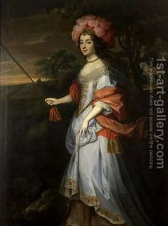 A Lady in Masquerade Costume, c.1679By John Michael Wright born 1617 - died 1694