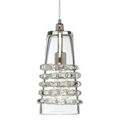 Jamie Young Long Ribbon Pendant-Clear