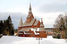 Hahnenklee: Die Gustav-Adolf-Stabkirche ist die einzige Stabkirche nach nordischem Vorbild in Norddeutschland.