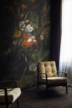 'A 'Forest Floor' Still Life of Flowers' Mural - Ashmolean Museum from £65 | Shop Prints & Wall Murals at surfaceview.co.uk
