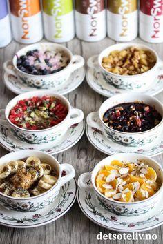Bakt havregrøt - sukkerfrie varianter | Det søte liv Cereal, Breakfast, Food, Morning Coffee, Essen, Meals, Yemek, Breakfast Cereal, Corn Flakes