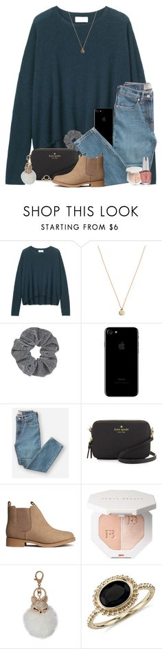 """"" by southernstruttin ❤ liked on Polyvore featuring Ginette NY, Topshop, Everlane, Kate Spade, H&M, Natasha, Blue Nile and OPI"