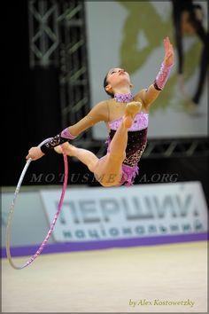 Carmen Crescenzi, Italy; Derugina Cup 2012 #rhythmic_gymnastics