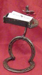 Horseshoe Cowboy Toothpick Holder $32.00